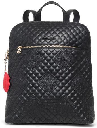 Desigual dámský černý batoh Claudia Nanaimo  3675fbbe961