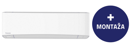 Panasonic klimatska naprava CS/CU-Z12SKE, z montažo