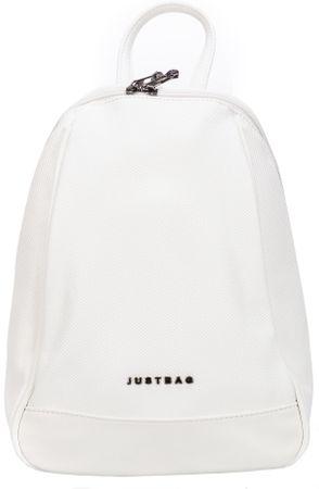 JustBag ženski nahrbtnik, beli