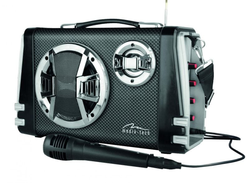 Media-Tech Karaoke Boombox BT