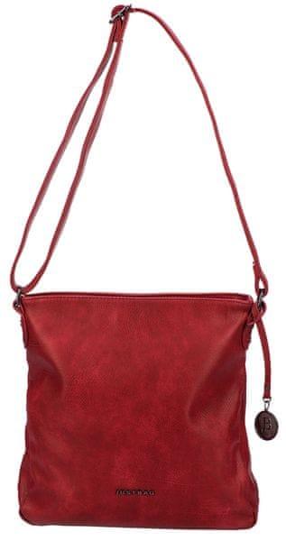 JustBag červená crossbody kabelka