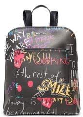 Desigual ženski ruksak Graffiti Wall Nanaimo, crni