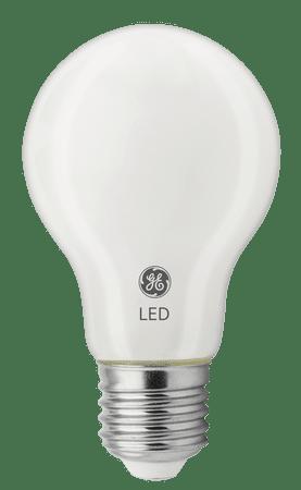 GE Lighting LED žárovka Glass, E27 4,5W, teplá bílá