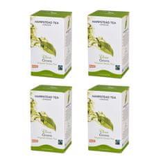 Hampstead Tea London BIO zelený čaj 20ks x 4