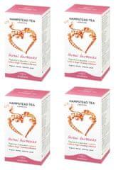 Hampstead Tea London BIO selekce bylinných a ovocných čajů 20ks x 4