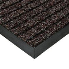 FLOMA Hnědá textilní zátěžová čistící rohož Shakira - 200 x 100 x 1,6 cm