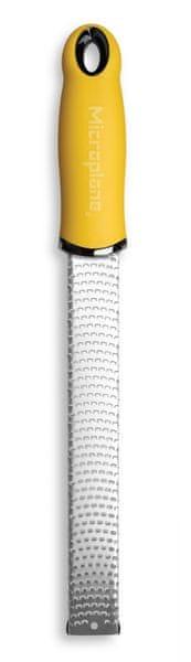 Microplane struhadlo jemné s rukojetí žluté