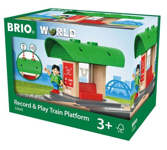 Brio World 33840 Peron saját hangjelzéssel