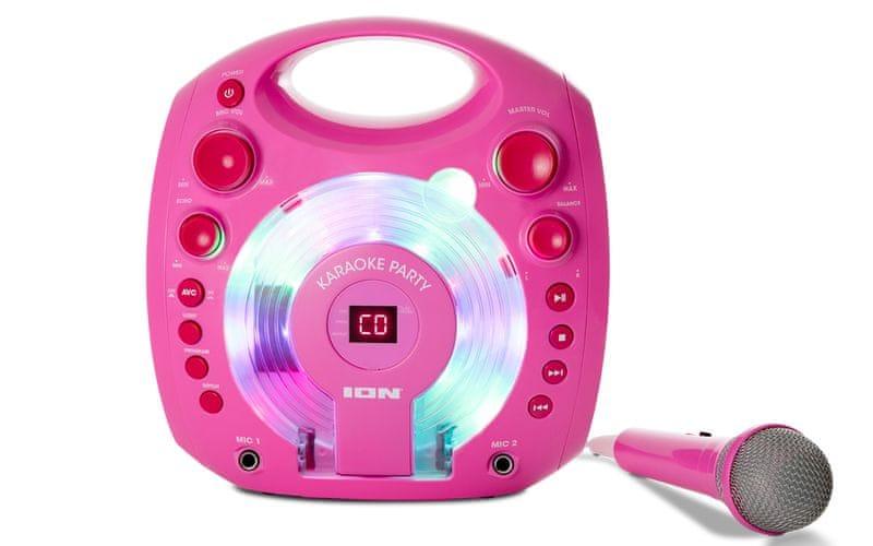 iON Karaoke Party, růžová