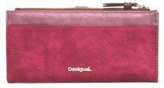Desigual ženska denarnica Ares Pia, rdeča