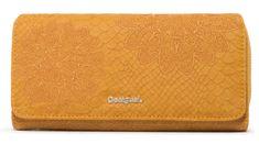 Desigual ženska denarnica Aquiles Maria, rumena