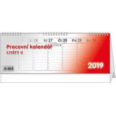Kalendář stolní pracovní Citáty II.
