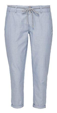 s.Oliver dámské kalhoty 34 modrá