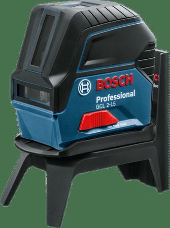 BOSCH Professional kombiniran laser GCL 2-15 + RM1 v kovčku (060106600)