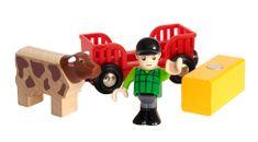Brio World 33879 Hrací set Farmář