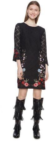 Desigual sukienka damska Vermond 42 czarna