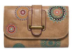Desigual ženska denarnica Siara Lengueta, rjava