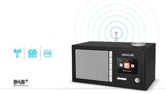 SENCOR SIR 5000WDB rádió