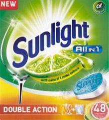 Sunlight All in 1 Citrus Tablety do myčky nádobí 48 ks