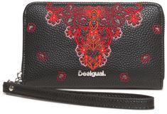 Desigual ženska denarnica Manuela Mini Zip, črna