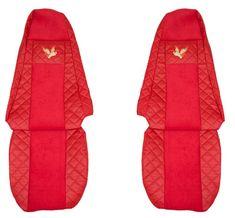 F-CORE Potahy na sedadla FX02, červené