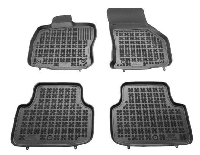 REZAW-PLAST Gumové koberce, sada 4 ks (2x přední, 2x zadní), Škoda Octavia III od r. 2013