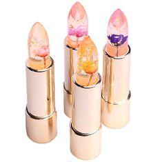 Kailijumei Průhledná rtěnka s pravou květinou (Lipstick) 3,8 g