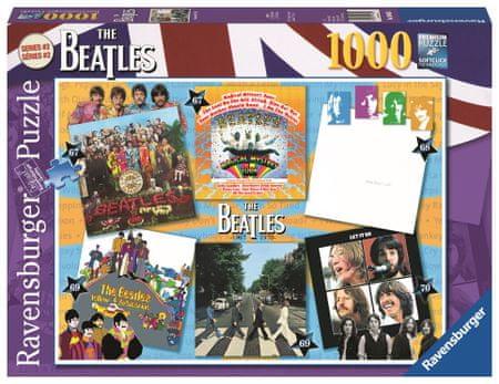 Ravensburger sestavljanka The Beatles: Albumi 1967-1970, 1000 kosov