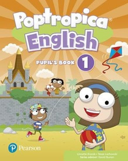 Erocak Linnette: Poptropica English Level 1 Pupil´s Book + PEP kód elektronicky