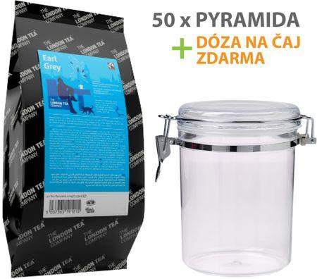 London Tea Company Fairtrade čierny čaj pyramídový Earl Grey 50ks