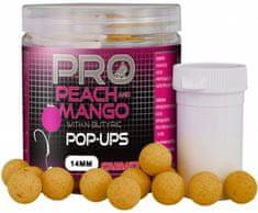 Starbaits Plovoucí boilie Probiotic Pop Up Peach Mango 60 g