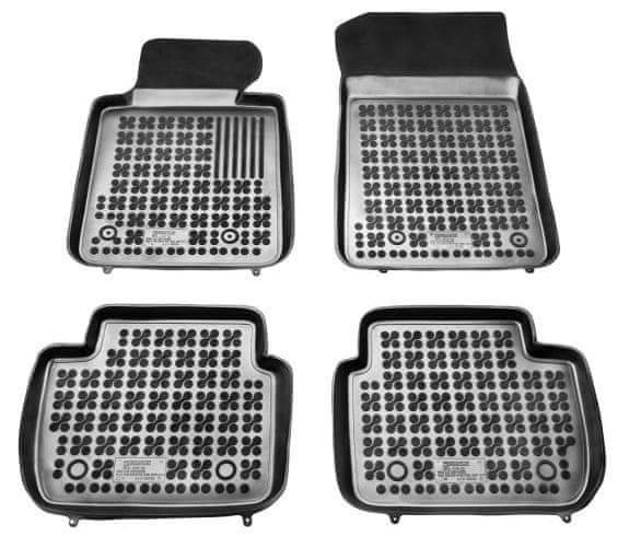 REZAW-PLAST Gumové koberce, sada 4 ks (2x přední, 2x zadní), pro vozy typu BMW 3