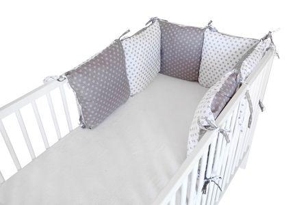 COSING Ochraniacz do łóżeczka jasnoszary