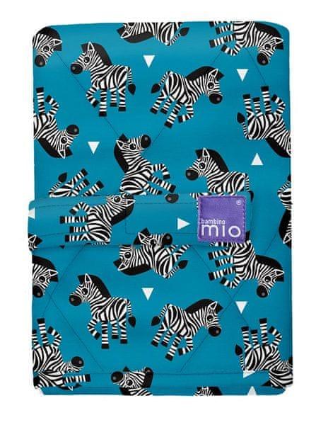 Bambinomio Přebalovací podložka 60×43, Zebra Crossing