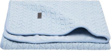 Bebe-jou otroška odeja Samo 75x100 cm - Fabulous frosted blue, modra