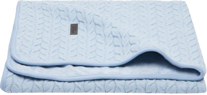Bebe-jou Dětská deka Samo 75x100 cm - Fabulous frosted blue