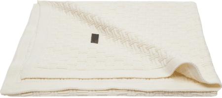 Bebe-jou otroška odeja Mira 90 × 140 cm - Fabulous shadow white, bela
