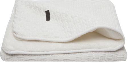 Bebe-jou otroška odeja Mori 90 × 140 cm - Fabulous shadow white, bela