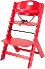 BabyGO Krzesełko dziecięce Family czerwony
