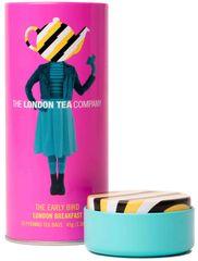 London Tea Company Fairtrade černý čaj pyramidový London Breakfast v plechové dóze 15ks