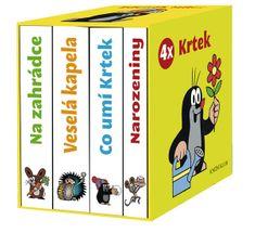 Miler Zdeněk: 4x Krtek (komplet v krabičce)