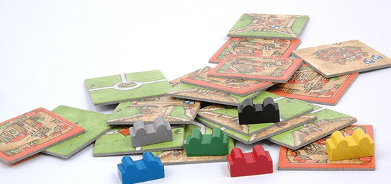 Mindok Carcassonne - rozšíření 5 (Opatsví a starosta)