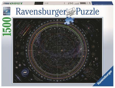 Ravensburger sestavljanka vesolja, 1500 kosov
