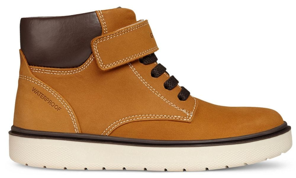 Geox chlapecké kotníčkové boty Riddock 34 hnědá