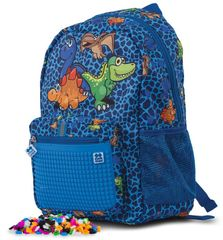 Pixie Crew Dino detský pixelový batoh