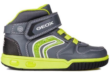Geox buty za kostkę chłopięce Gregg 24 szary
