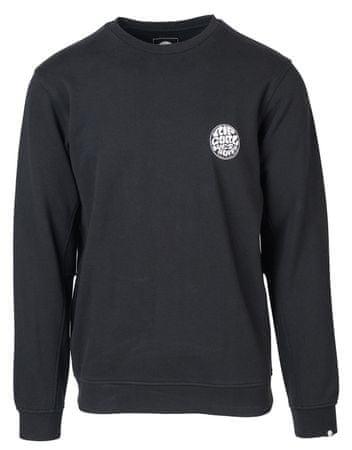 Rip Curl moška majica Wettie Crew, črna, M