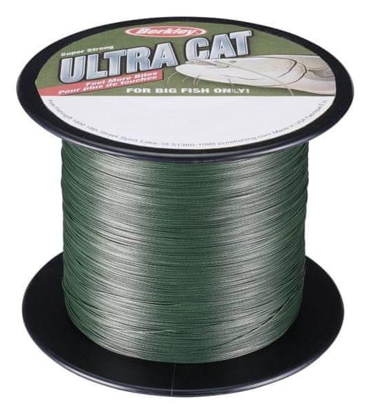 Berkley Splétaná Šňůra Ultra Cat Green 1 m 0,40 mm 60 kg
