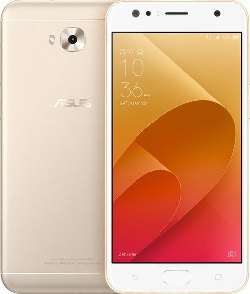 Asus ZenFone 4 Selfie, (ZD553KL), zlatý