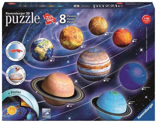 Ravensburger Planetární soustava 522 dílků